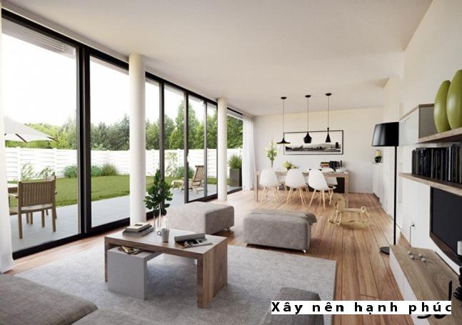 Mẫu phòng khách hiện đại được ưu chuộng ☛ Thiết kế 14