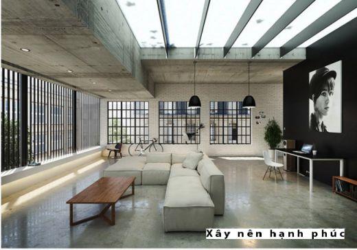 Mẫu phòng khách hiện đại được ưu chuộng ☛ Thiết kế 15