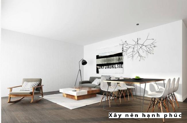 Mẫu phòng khách hiện đại được ưu chuộng ☛ Thiết kế 7