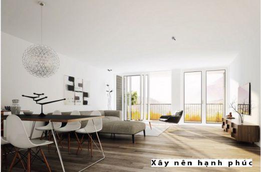 Mẫu phòng khách hiện đại được ưu chuộng ☛ Thiết kế 8