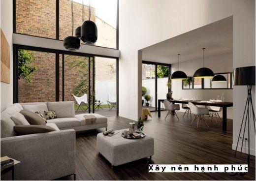 Mẫu phòng khách hiện đại được ưu chuộng ☛ Thiết kế 2