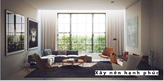 Mẫu phòng khách hiện đại được ưu chuộng ☛ Thiết kế 3