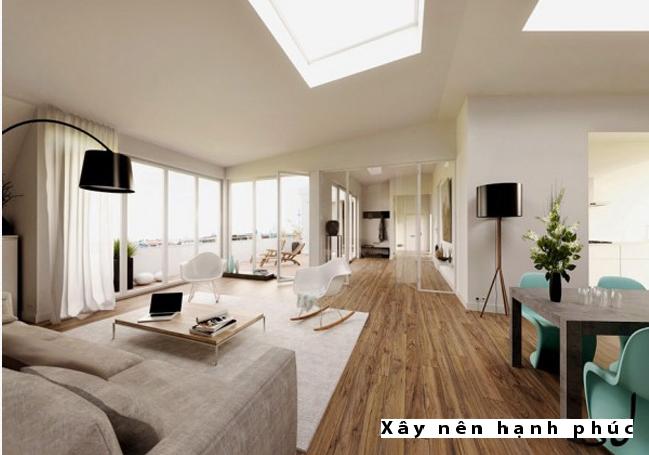 Mẫu phòng khách hiện đại được ưu chuộng ☛ Thiết kế 4