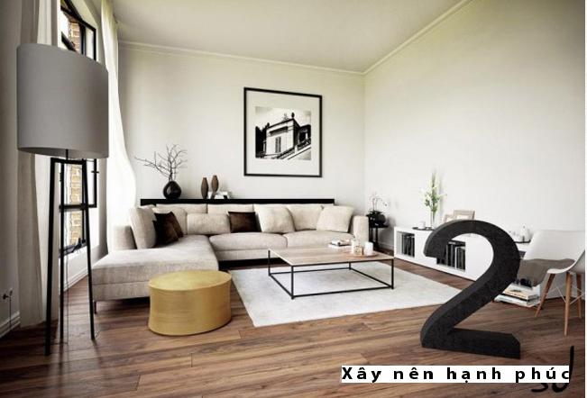 Mẫu phòng khách hiện đại được ưu chuộng ☛ Thiết kế 5