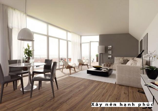 Mẫu phòng khách hiện đại được ưu chuộng ☛ Thiết kế 11
