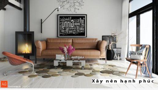 Mẫu phòng khách hiện đại được ưu chuộng ☛ Thiết kế 12