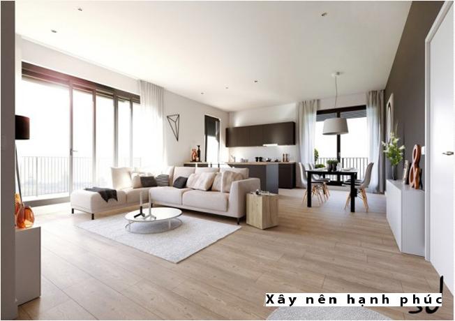 Mẫu phòng khách hiện đại được ưu chuộng ☛ Thiết kế 13