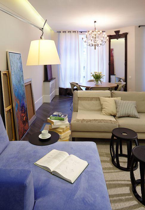 Mẫu nội thất phòng khách hiện đại ☛ Thiết kế 2