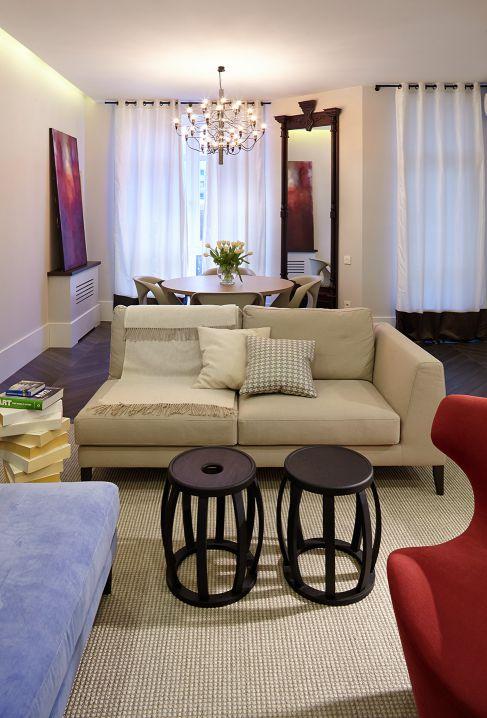 Mẫu nội thất phòng khách hiện đại ☛ Thiết kế 3