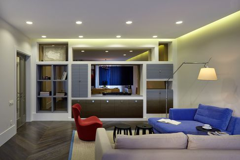 Mẫu nội thất phòng khách hiện đại ☛ Thiết kế 6