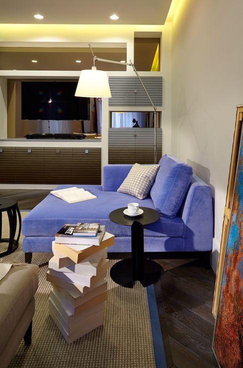Mẫu nội thất phòng khách hiện đại ☛ Thiết kế 7