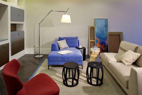 Mẫu nội thất phòng khách hiện đại ☛ Thiết kế 9