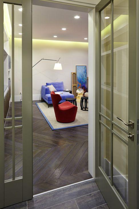 Mẫu nội thất phòng khách hiện đại ☛ Thiết kế 10