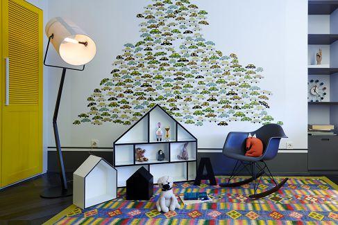 Mẫu nội thất phòng khách hiện đại ☛ Thiết kế 15