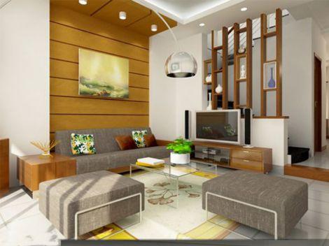 mẫu phòng khách chung cư hiện đại H5