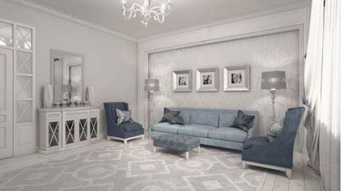 Hình ảnh phòng khách mang phòng cách cổ điển H1