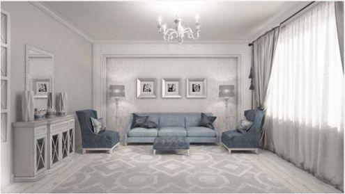 Hình ảnh phòng khách mang phòng cách cổ điển H2
