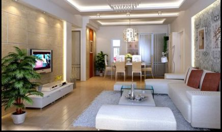 Mẫu phòng khách nhà phố đpẹ hiện đại- THiết kế 2