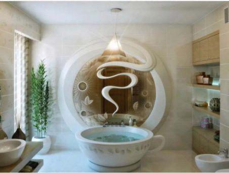 Mẫu phòng tắm đẹp với lý tưởng phong phú H1