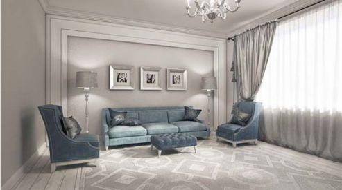 Hình ảnh phòng khách mang phòng cách cổ điển H3