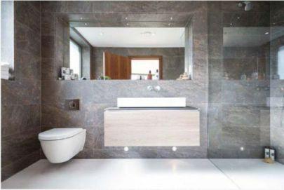 Mẫu phòng tắm với cách thiết kế tối giản☛ thiết kế 1