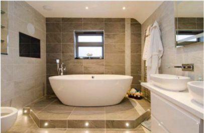 Mẫu phòng tắm với cách thiết kế tối giản☛ thiết kế 2
