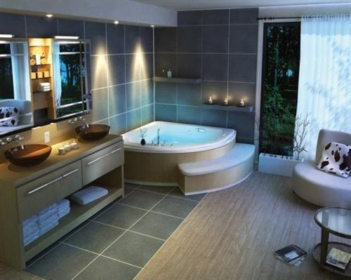 Phòng tắm đẹp dành cho nhà ống Mẫu thiết kế 1