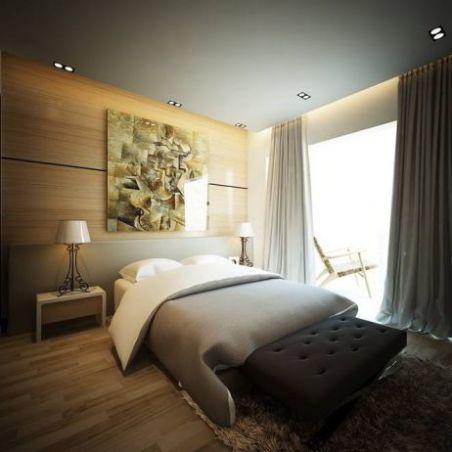 mẫu giường ngủ đẹp hiện đại H1