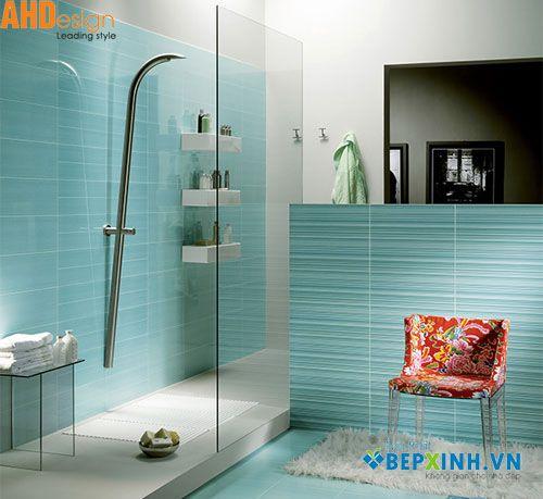 Phòng tắm đẹp dành cho nhà ống Mẫu thiết kế 2