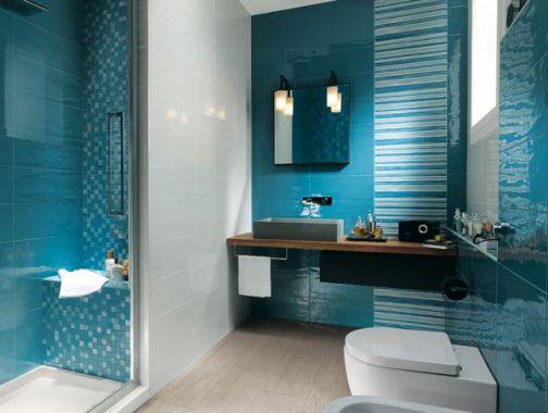 Phòng tắm đẹp dành cho nhà ống Mẫu thiết kế 4