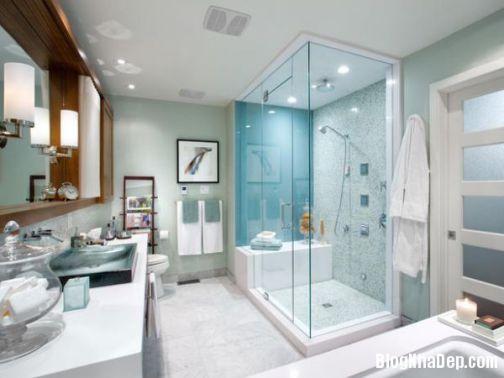 Phòng tắm đẹp dành cho nhà ống Mẫu thiết kế 5