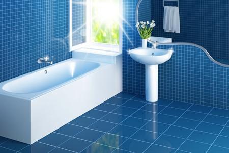 Phòng tắm đẹp dành cho nhà ống Mẫu thiết kế 6
