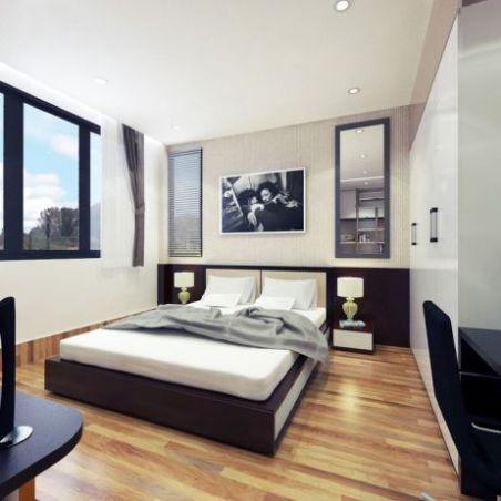 mẫu giường ngủ đẹp hiện đại H6