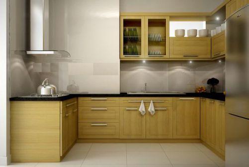 Mẫu nhà bếp nhỏ tiện nghi cho gia đình Phối cạnh số 1