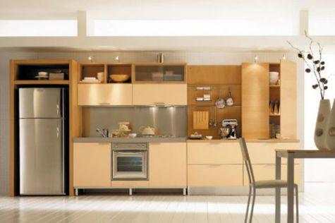 Mẫu nhà bếp nhỏ tiện nghi cho gia đình Phối cạnh số 2
