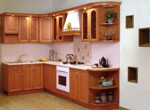 Mẫu nhà bếp nhỏ tiện nghi cho gia đình Phối cạnh số 3