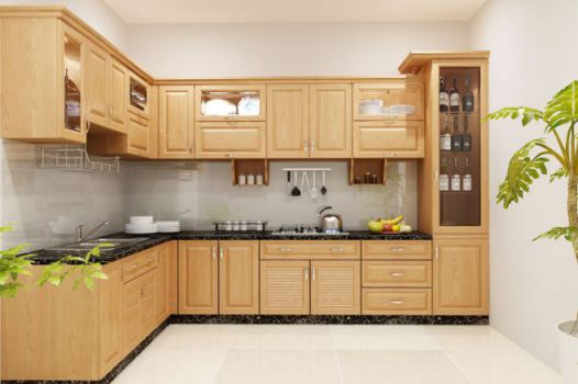 Mẫu nhà bếp nhỏ tiện nghi cho gia đình Phối cạnh số 5