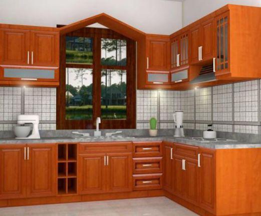 Mẫu nhà bếp nhỏ tiện nghi cho gia đình Phối cạnh số 8