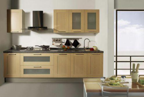Thiết kế mẫu tủ bếp hình chữ i đẹp hiện đại sang trọng H11