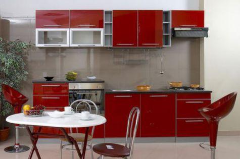 Thiết kế mẫu tủ bếp hình chữ i đẹp hiện đại sang trọng H14
