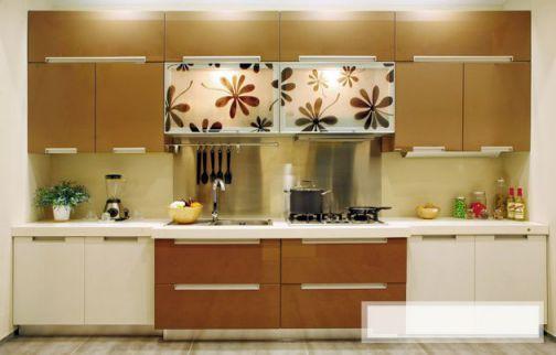 Thiết kế mẫu tủ bếp hình chữ i đẹp hiện đại sang trọng H4