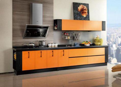 Thiết kế mẫu tủ bếp hình chữ i đẹp hiện đại sang trọng H5