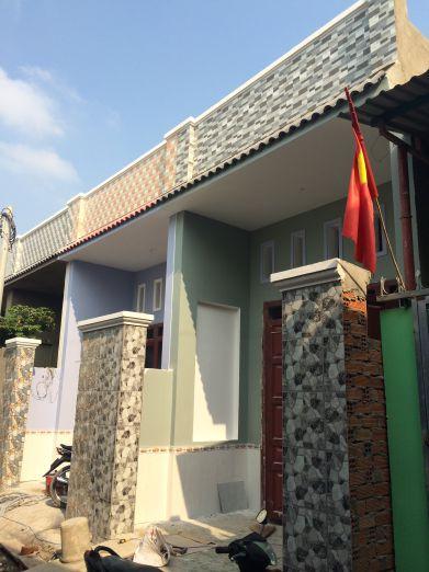 Nhà mới, kết cấu hạ tầng kiên cố.