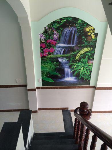 Tường trang trí bức tranh phong thủy đẹp