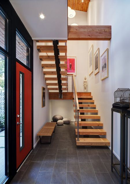 Mẫu cầu thang đẹp giá rẻ - Thiết kế 4