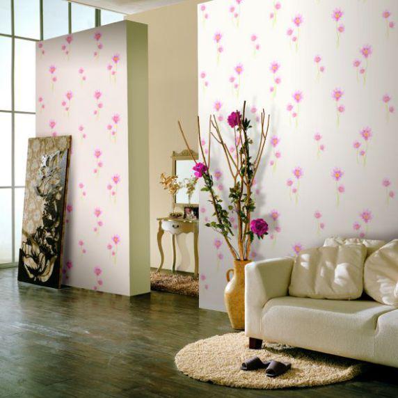 Mẫu giấy gian tường phòng khách đẹp - Thiết kế 1