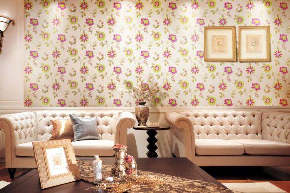 Mẫu giấy gian tường phòng khách đẹp - Thiết kế 6