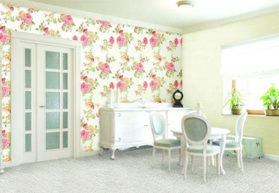Mẫu giấy gian tường phòng khách đẹp - Thiết kế 5