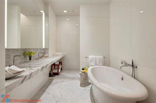 Mẫu phòng tắm đẹp hiện đại H1