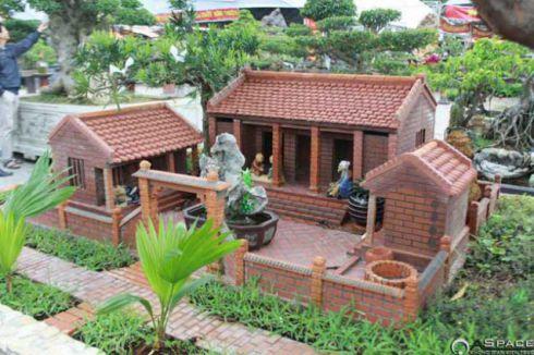 Mẫu nhà vườn đẹp hiện đại nhất - thiết kế 1